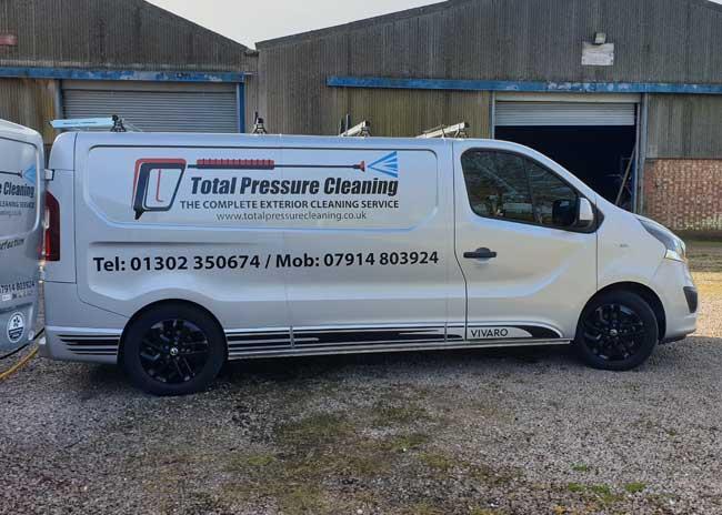 Total Pressure Cleaning Van